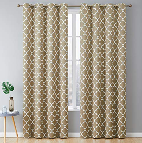 HLC.ME Lattice Print Thermal Insulated Blackout...