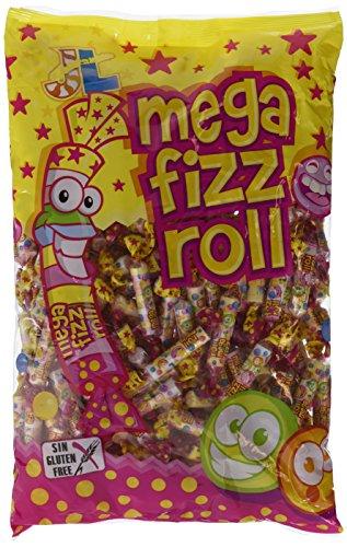 Rollitos - Mega Fizz Roll - Caramelo comprimido - 1100 g