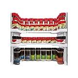 apilables Especiero Cocina Organizador estantería Especias Soporte de hierbas...