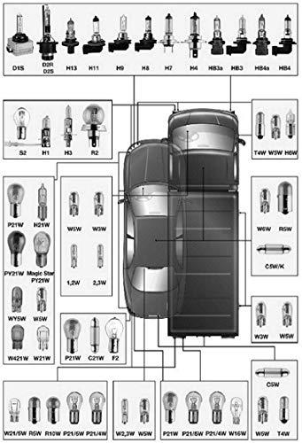 Lampe General Electric modèle + 30% h1 12 V/55 W att. P14,5S