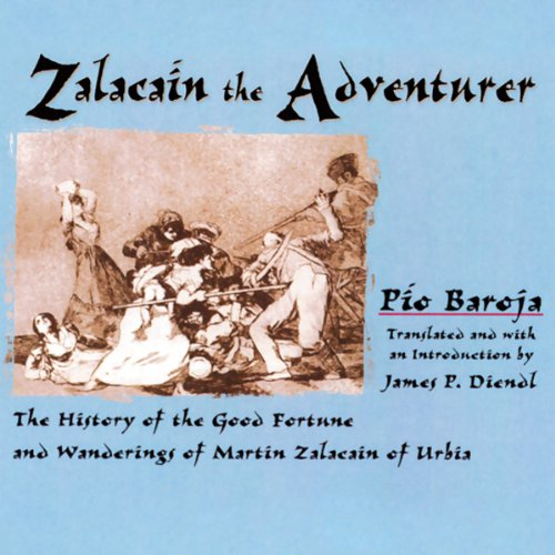 Zalacain the Adventurer audiobook cover art
