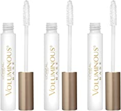 L'Oreal Paris Cosmetics Voluminous Primer Mascara, 3 Count