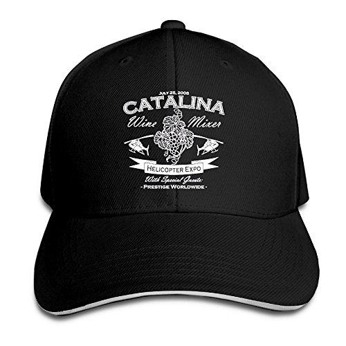 Catalina Wine Mixer Adjustable Baseball Hat Dad Hats Trucker Hat Sandwich Visor Cap