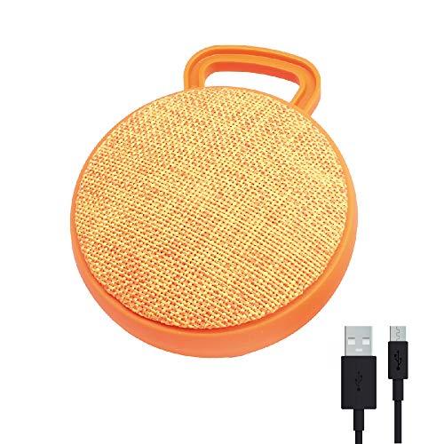 Altavoz portátil Bluetooth Naranja RAYPOW · Mini Altavoz con Panel para controlar música, micrófono y Radio, para Teléfono Inteligente, Tablet, Ordenador
