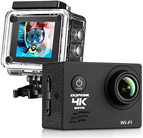 WiFi Sports Action 4K Camera Waterproof Camcorder 2 0 Inch LCD Display 120 Degree Wide Angle product image