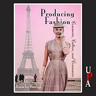 Producing Fashion audiobook cover art