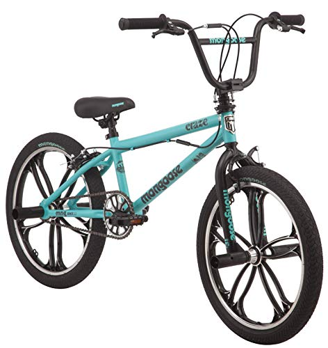 "Mongoose 20"" Craze Girls' Freestyle Bike, Mint"