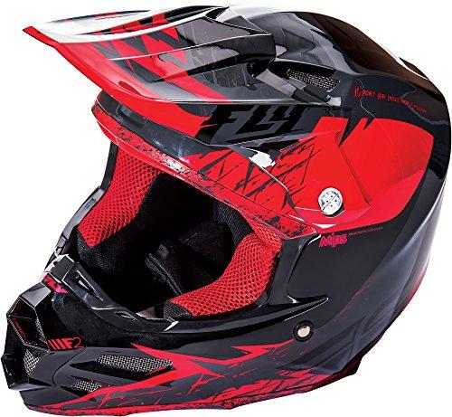 Fly Racing Unisex's 73-4222M F2 MIPS Retrospec Helmet, Red/Black, M