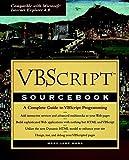 VBScript Sourcebook (Sourcebooks) by Mary Jane Mara (1997-10-31) - Mary Jane Mara