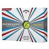 Callaway Supersoft-Golfbälle Einheitsgröße gelb