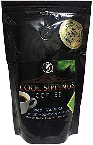 Jamaica Blue Mountain Caffè, Chicchi di caffè(100% Arabica) 454g