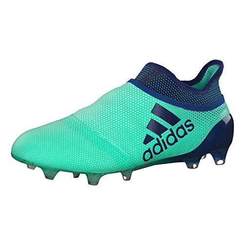 adidas X 17+ FG, Zapatillas de Fútbol Hombre, Verde (Grün/Dunkelblau Grün/Dunkelblau), 48 EU ✅