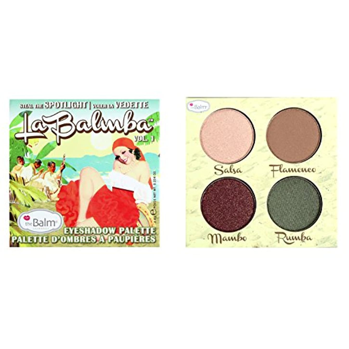 フィットネス降ろす二度theBalm La Balmba Steal the Spotlight Eyeshadow Palette Volume 1 (並行輸入品)