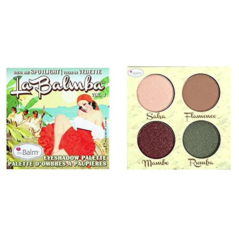 泥だらけ憤る人事Thebalm La Balmba Eyeshadow Palette Vol. 1 (並行輸入品) [並行輸入品]