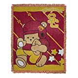 USC Trojans Baby Woven Jacquard Throw Blanket, 36' x 46'