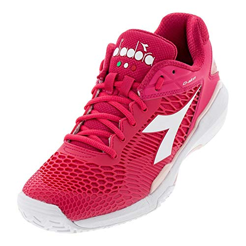Diadora Womens Speed Competition 5 AG Tennis Shoes Other Sport Casual Shoes, Pink, 11