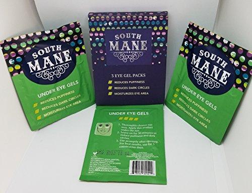 South Mane Under Eye Gels - 3 Eye Gel Packs