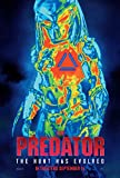 newhorizon The Predator Movie Poster 14'' x 21'' NOT A DVD