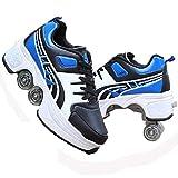 ZHANGJUN Inline-Skate, Rollschuhe Verstellbare Inline-Skates Rollschuhe, Multifunktionaler...