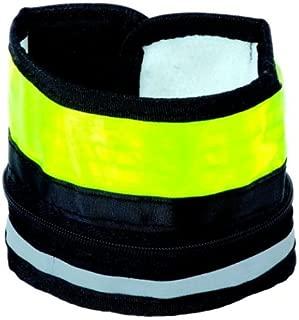 Nathan L.E.D. Wrist Runner (Neon Yellow/Silver)
