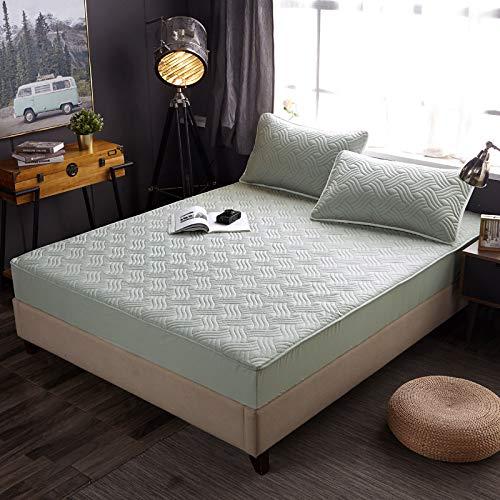 ALRZ Juego de sábanas de algodón para cama de 3 piezas Simmons colchón Cove