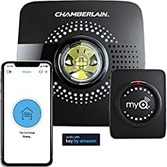 NEW! FREE IN-GARAGE DELIVERY WITH KEY BY AMAZON. Prime members in select areas can opt in with the myQ Smart Garage Hub to get Amazon packages securely delivered right inside their garage, Simply link your myQ account in the Key app *Get $30 AMAZON C...