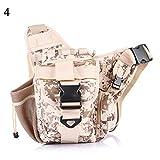 CplaplI Sac pour Appareil Photo Saddle Bag Waist Bag Outdoor Leisure Shoulder Crossbody Backpack Sling Shoulder Camera Bag désert
