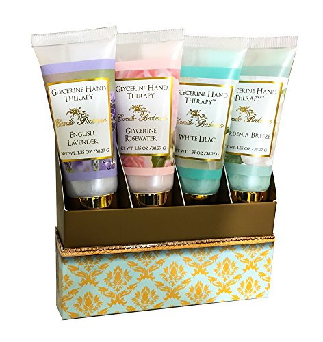 Camille Beckman The Floral Collection Gift Set, Four 1.35 oz Tubes
