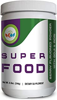 Sponsored Ad - PF Earth & Pure Green Superfood | 100% Natural, Gluten Free Immune Booster With Goji Berry, Acai and Antiox...
