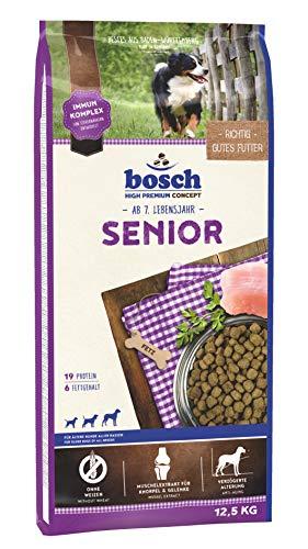 bosch HPC Senior | Comida seca para perros mayores de todas las razas | 12,5 kg