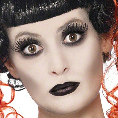 Amakando Gothic Make Up Set Halloween Schminke Geist Steampunk Schminkset Geister Faschingsschminke...