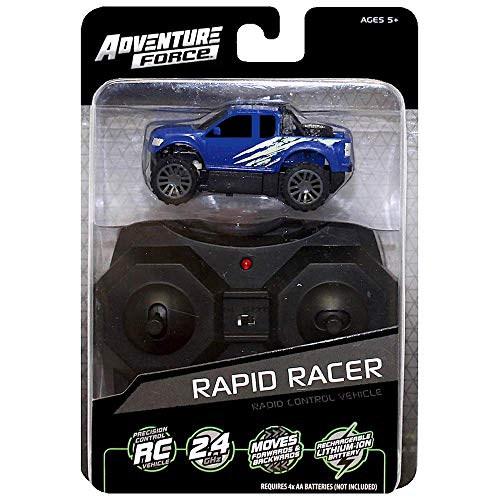 Adventure Force Blue Truck Rapid Racer 2.4 GHZ Micro