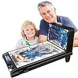 Toys- Máquina de Pinball Educativo para Niños Juguete Clásico de Pinball de Mesa con Luces y Sonidos - Juego de Pinball Espacial para Niños de 3 Años en Adelante - Retro Arcade Super Pinball
