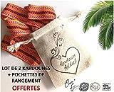 Lot de 2 Kardounes Authentique d'Algérie (2.5M) Cosm'Ethics® + Fiche...