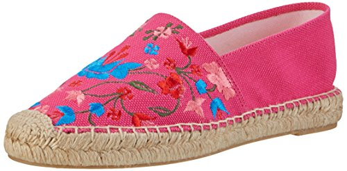 Buffalo Shoes Damen 1641C LONA Espadrilles, Pink (Fuschia 01), 37 EU