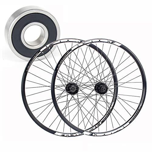 MTB Wheelset 26 Inch Bike Wheels Double Wall Aluminum Alloy Hybrid/Mountain Disc Brake Cassette for 7/8/9/10 Speed (Size : 27.5inch)