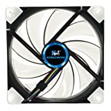 Kingwin Duro Bearing Silent Series 120 mm x 120 mm Case Fan with White LED Cooling - DB-125