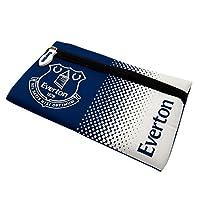 エバートン フットボールクラブ Everton FC オフィシャル商品 ペンケース (ワンサイズ) (ブルー/ホワイト)