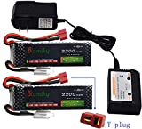 Best Lipo Battery Chargers - Blomiky 2 Pack 11.1V 3S 2200mAh 25C Lipo Review