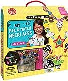 Klutz My Mix & Match Necklaces Jr. Craft Kit, Brown/a