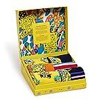 Happy Socks Men's Sponge Bob 6-Pack Gift Box 0100 10-13