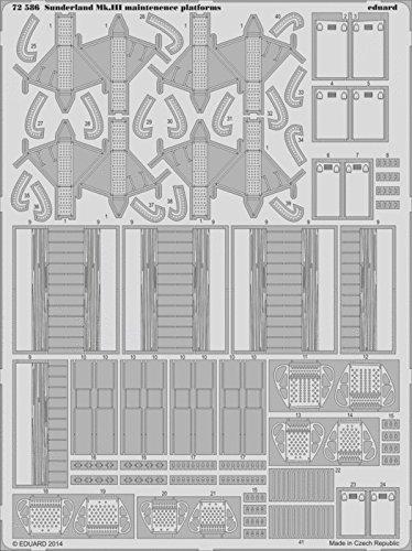 Eduard Photoetch 1:72 - Sunderland Mk III Maintenance Platforms (Italeri)