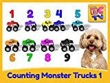Counting Monster Trucks Part 1 - 1 to 10