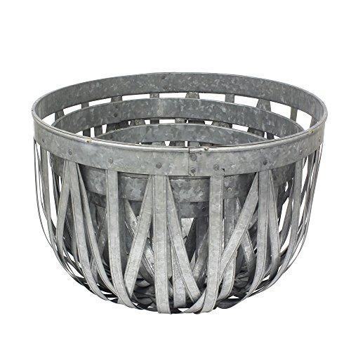 wire basket large round - 6