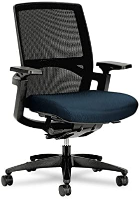 HON Stretch Back Work Chair, 26-3/4 by 32 by 42-Inch, Mariner