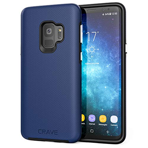 Crave Dual Guard for Samsung S9 Case, Shockproof Protection Dual Layer...