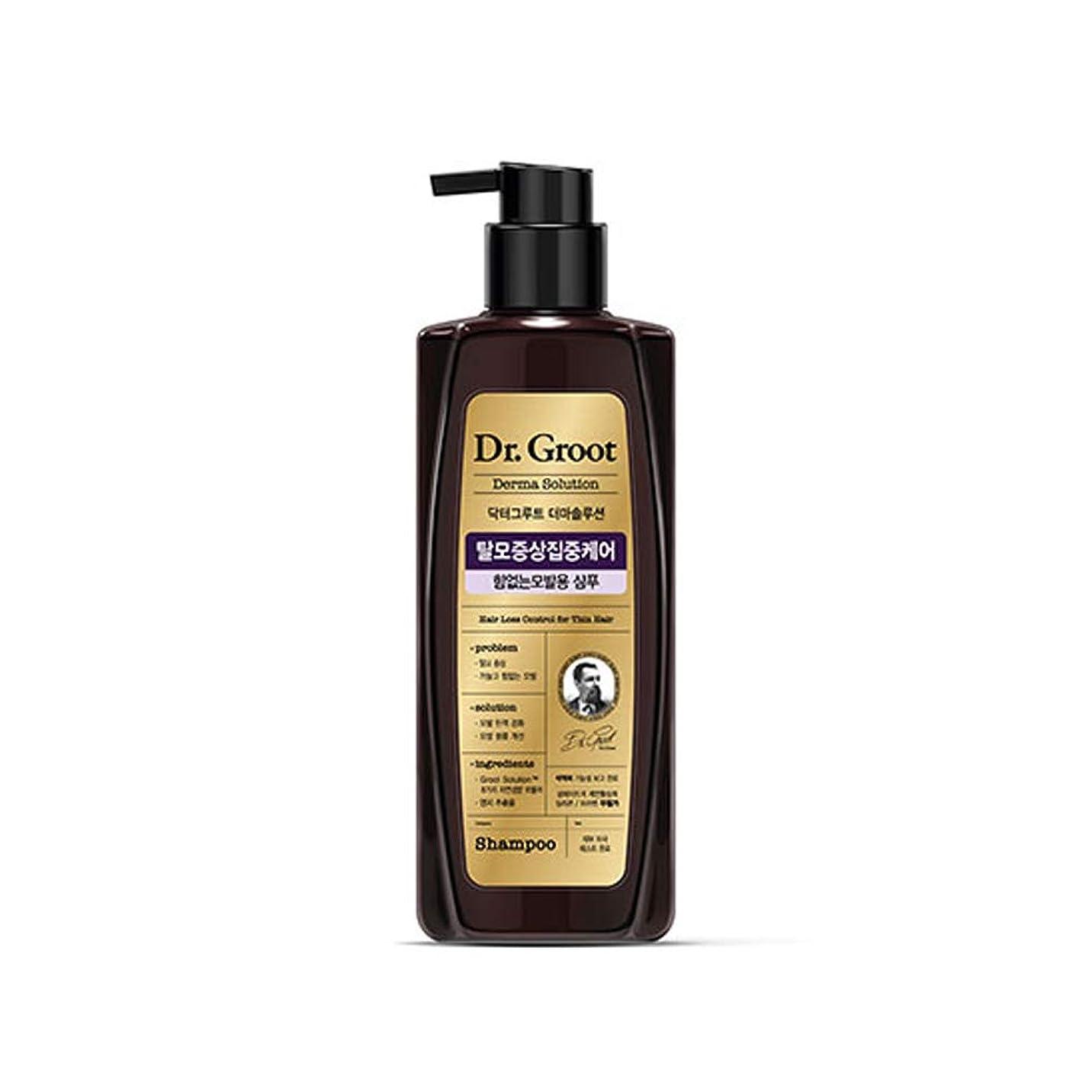 より平らなディレイ計画【Dr.Groot】 ドクターグルート Dr.グルート 脱毛防止シャンプー 弱い髪質用(Anti Hair Loss Shampoo -For weak hair-)