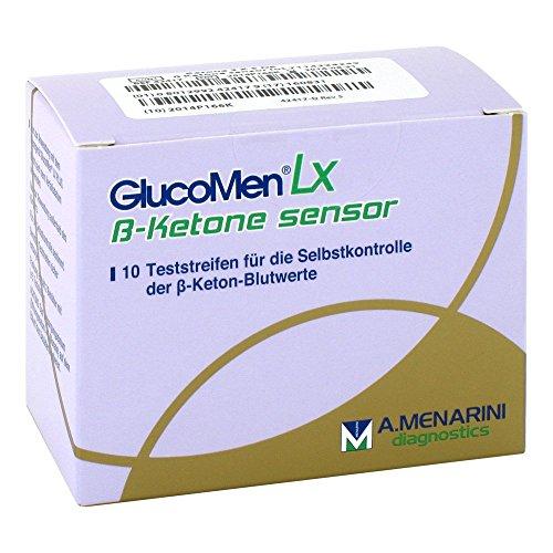 Glucomen LX Plus Ketone Sensor Teststreifen, 10 St