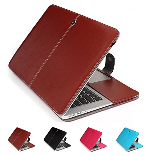 GranVela MacBook PU Custodia in pelle, copertura di caso per Apple 11', 11.6' inch MacBook Air - Marrone