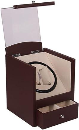 SHISHANG rot Date Piano Paint Watch Box automatische rotierende Uhr Motor Box Doppel nur Uhr Aufbewahrungsbox B078SNKZJM     | Neu